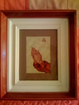 Goblen - Maini in rugaciune