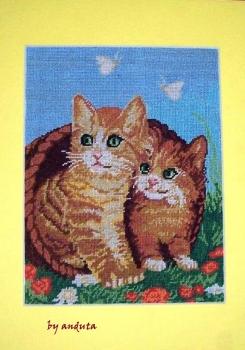 Goblen - Cos cu pisicute