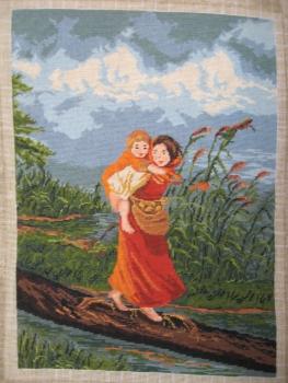 Goblen - Copii fugind de furtuna